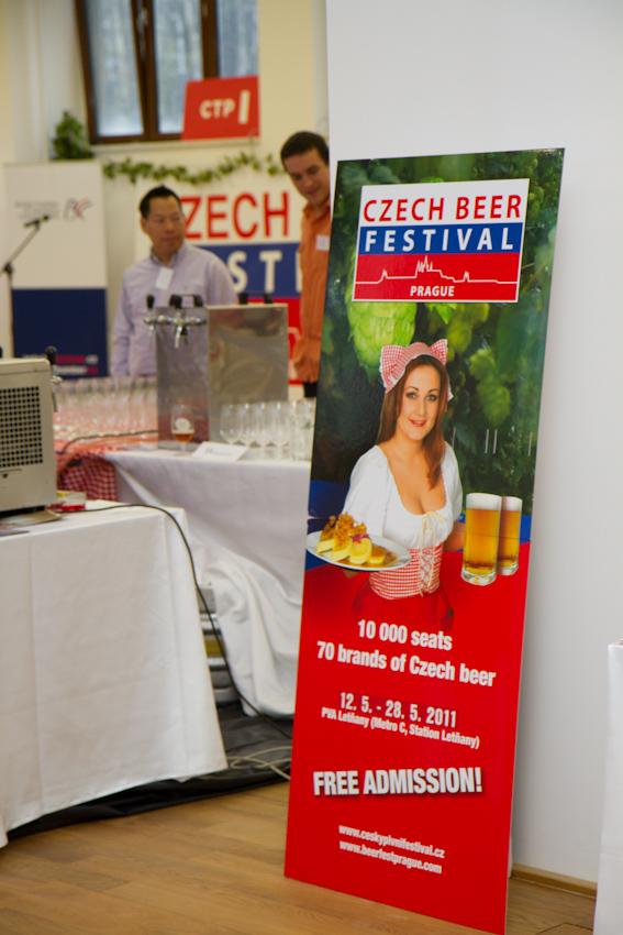 Galerie de photos : Czech Beer  Festival 2011 - événement commun de 7 chambres étrangères