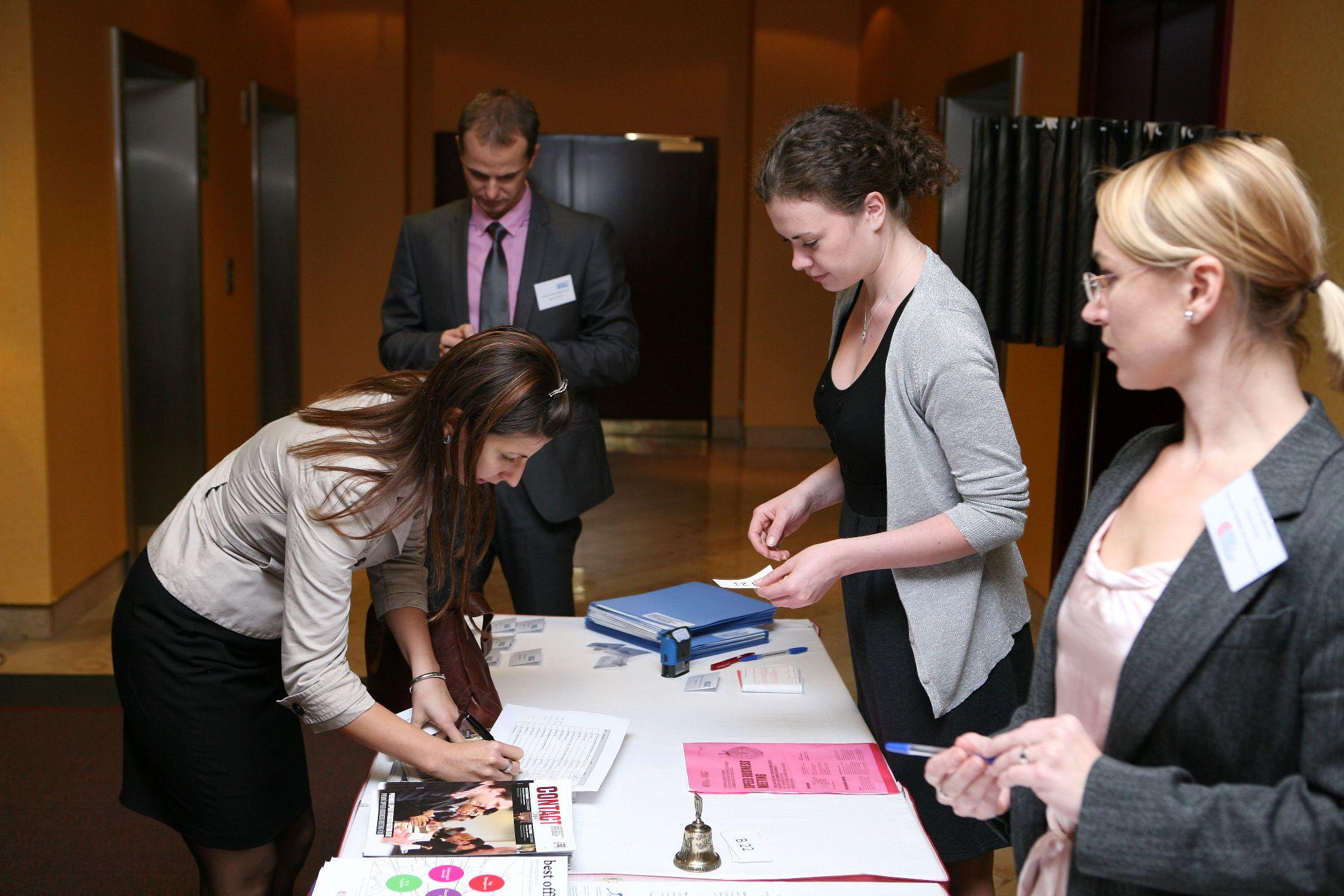 Galerie de photos : SPEED BUSINESS MEETING avec les membres de la Chambre américaine