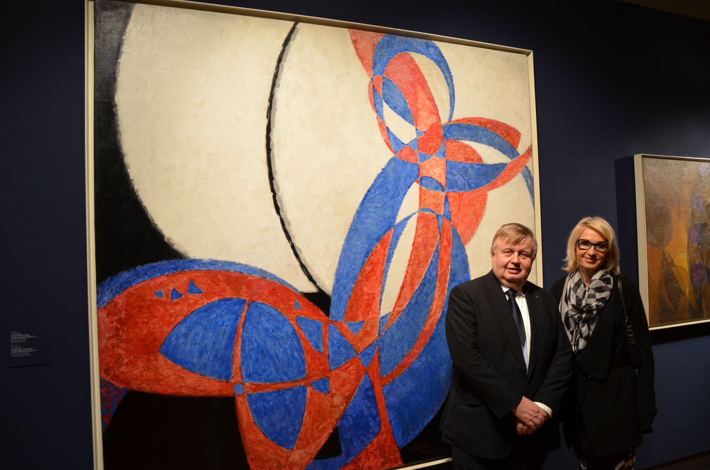 Galerie de photos : Exposition František Kupka : Le chemin vers Amorpha; suivi d'un cocktail