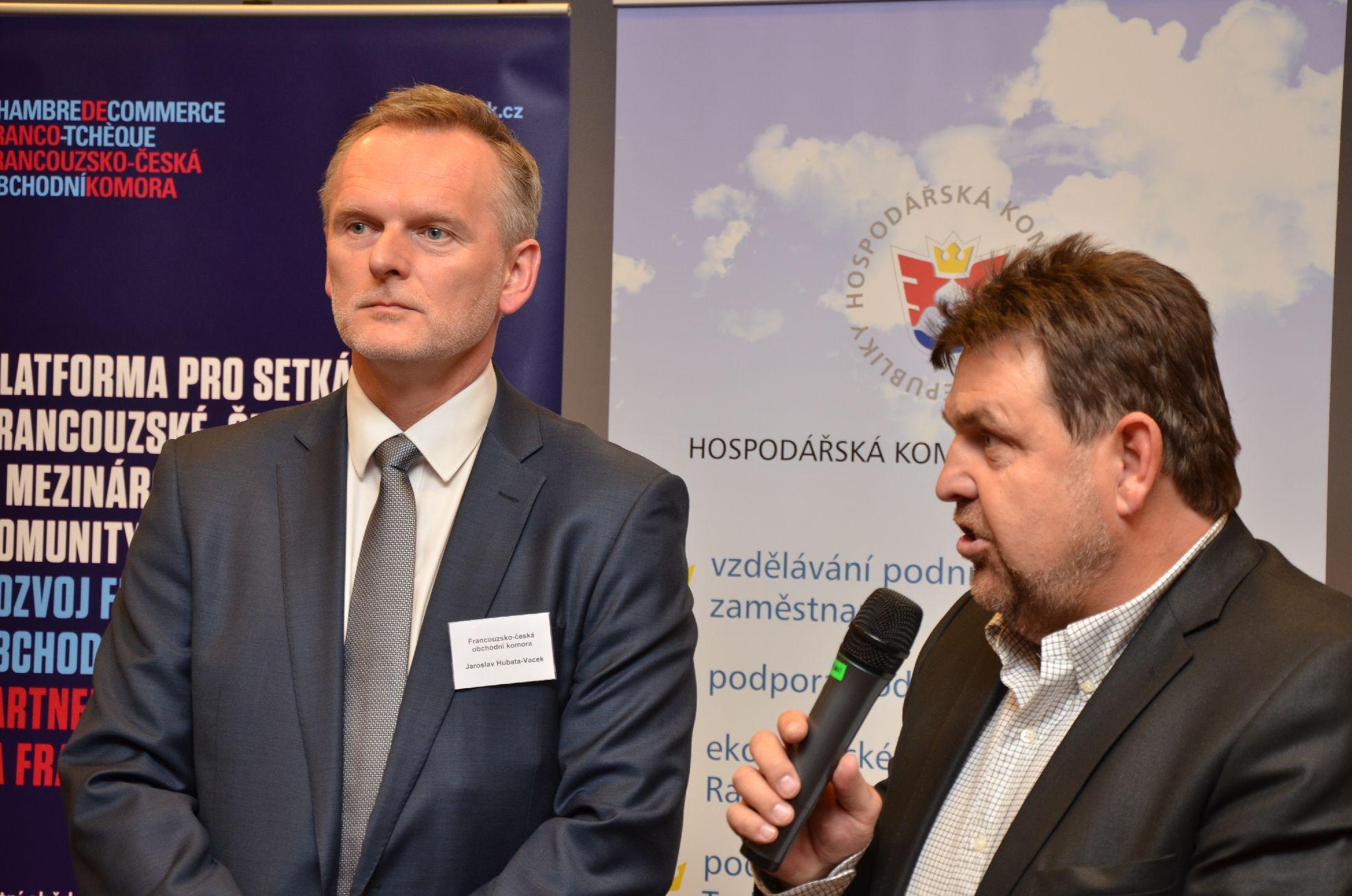 Galerie de photos : SPEED BUSINESS MEETING avec les membres de la Chambre de commerce de Prague