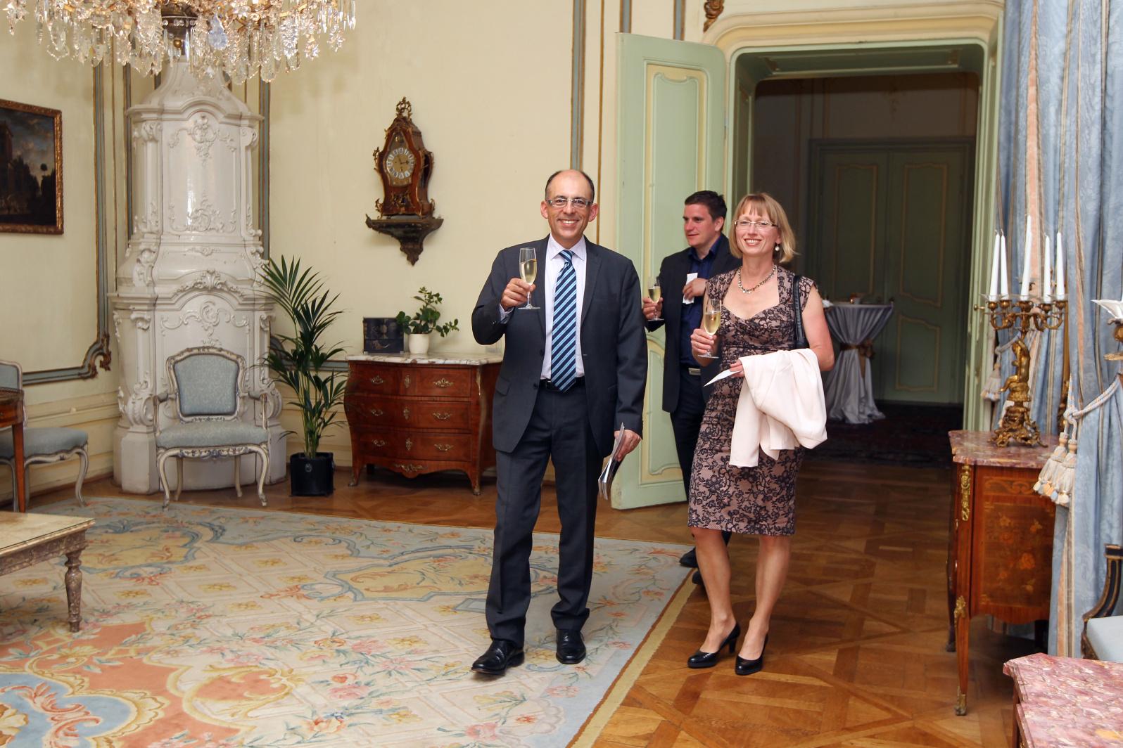 Galerie de photos : Cocktail et remise des prix du French Czech Golf Cup 2013