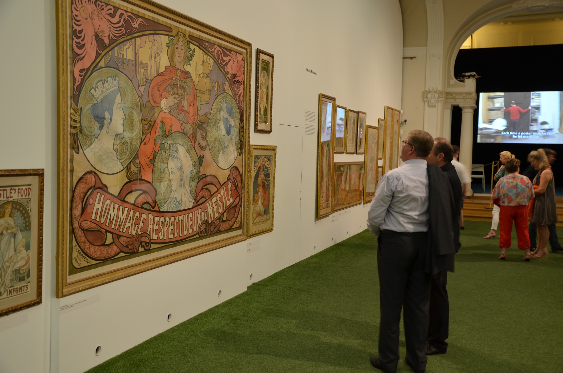 Galerie de photos : Visite privée : Ivan Lendl - Alfons Mucha