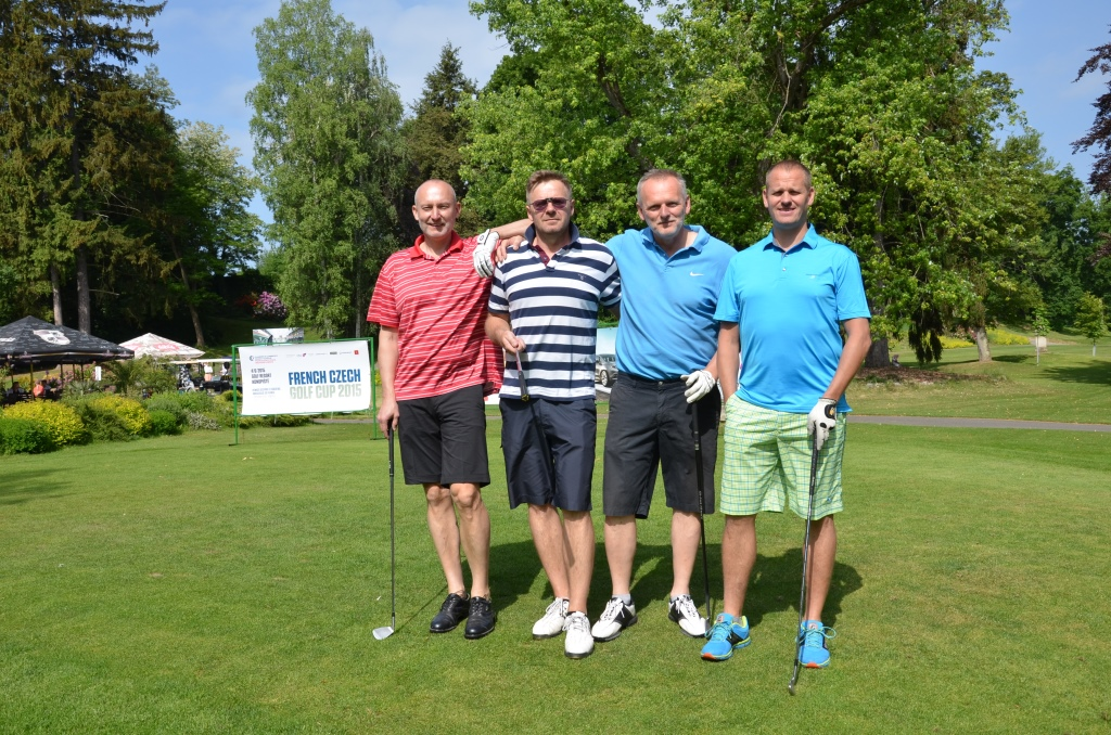 Galerie de photos : French Czech Golf Cup 2015