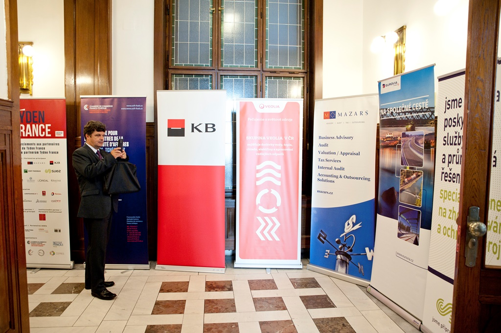 Galerie de photos : Forum économique franco-tchèque - enregistrement obligatoire