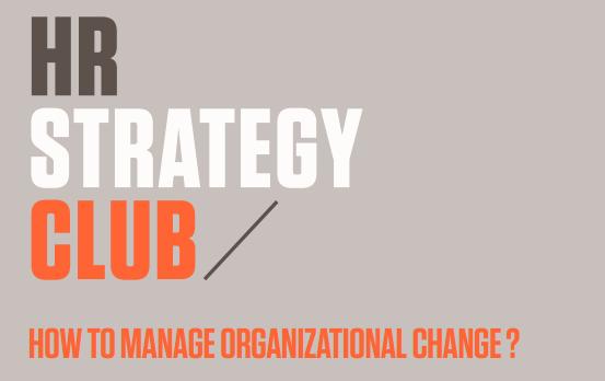 HR Strategy club