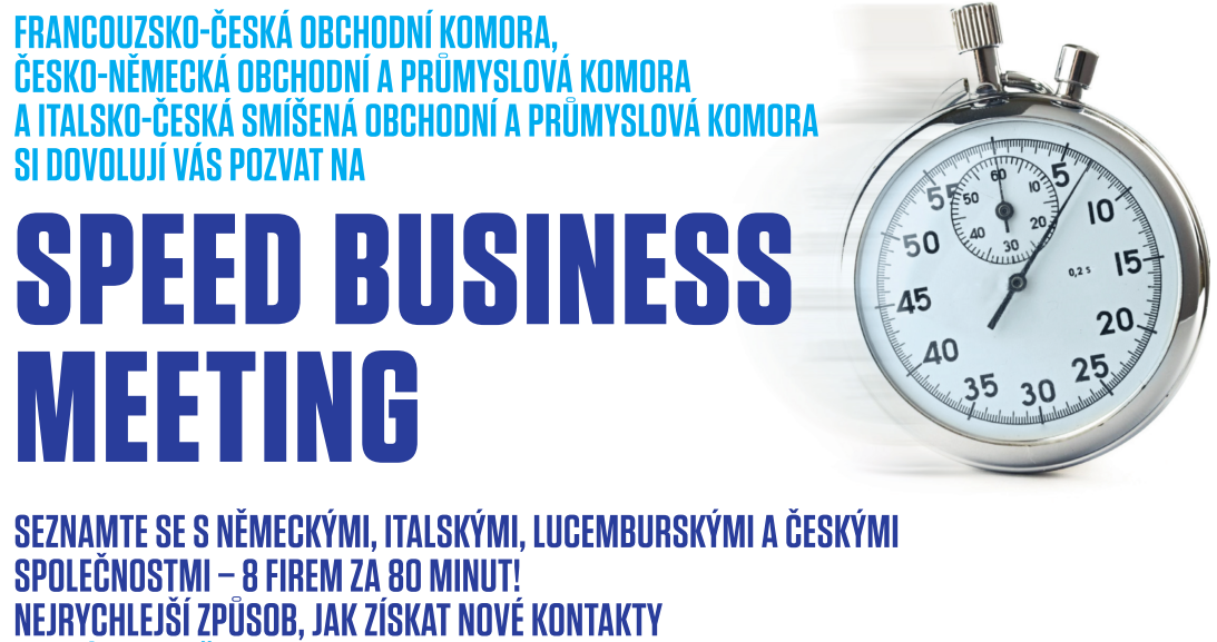 Speed Business Meeting s ČNOPK a CAMIC