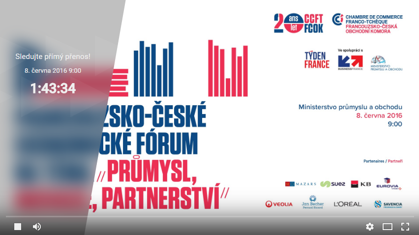 Kompletní video z ekonomického fóra