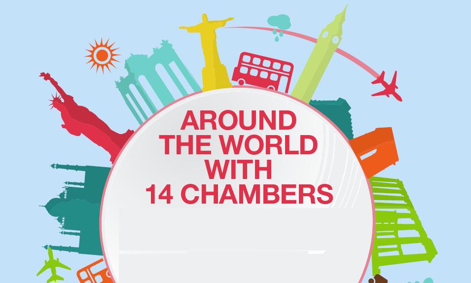 Around the World with 14 chambers