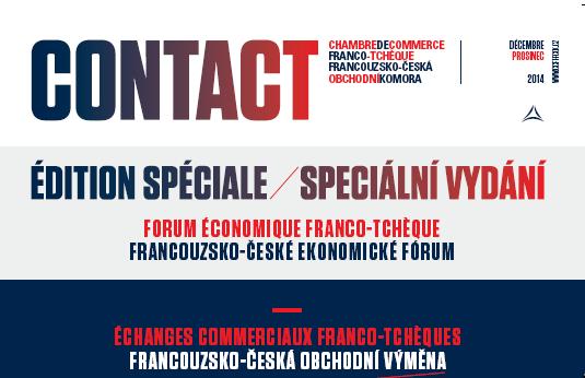 Speciální vydání časopisu Contact