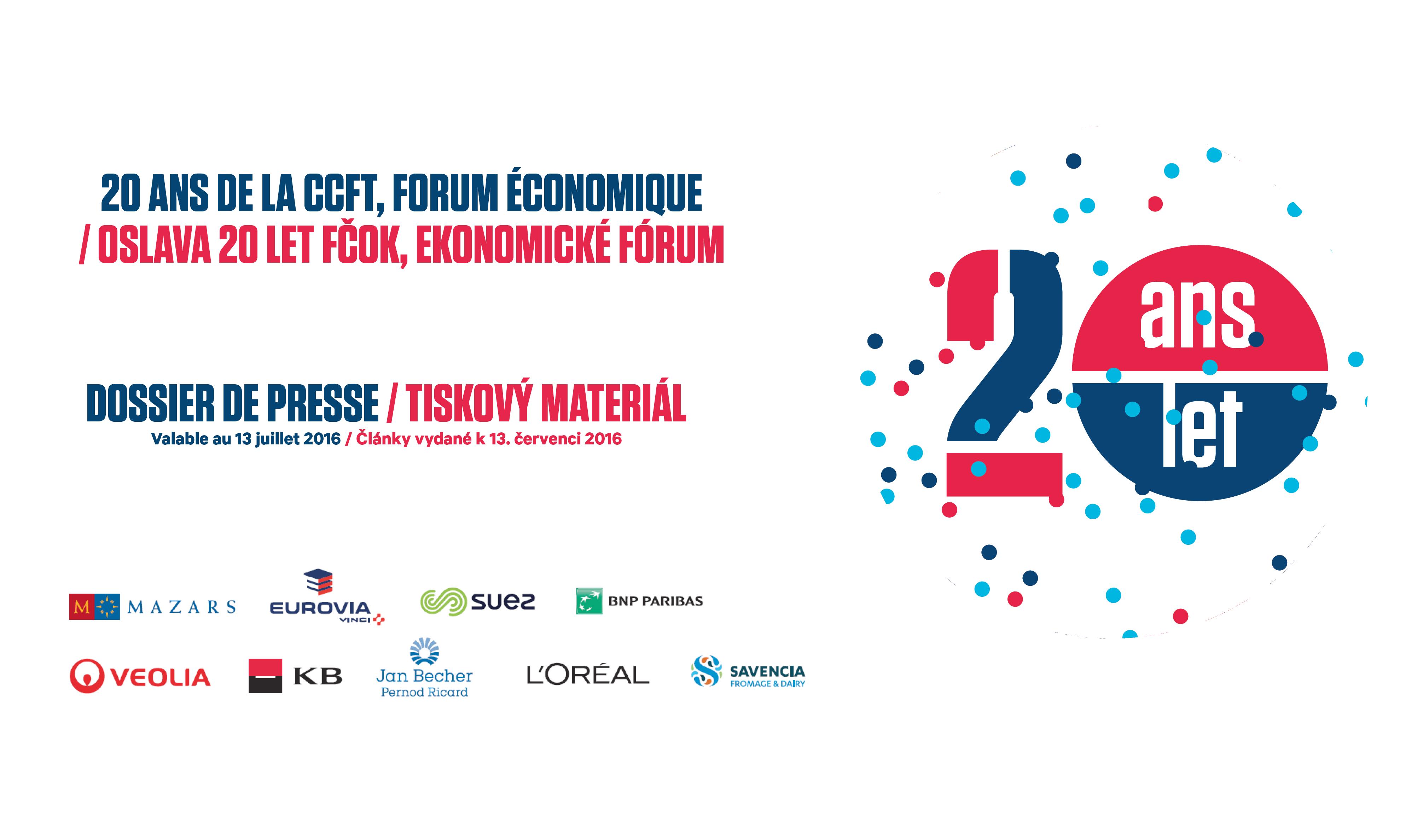 Dossier de presse : 20 ans de la CCFT