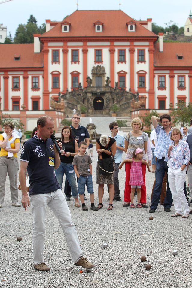 Galerie de photos : Tournoi de pétanque à Prague