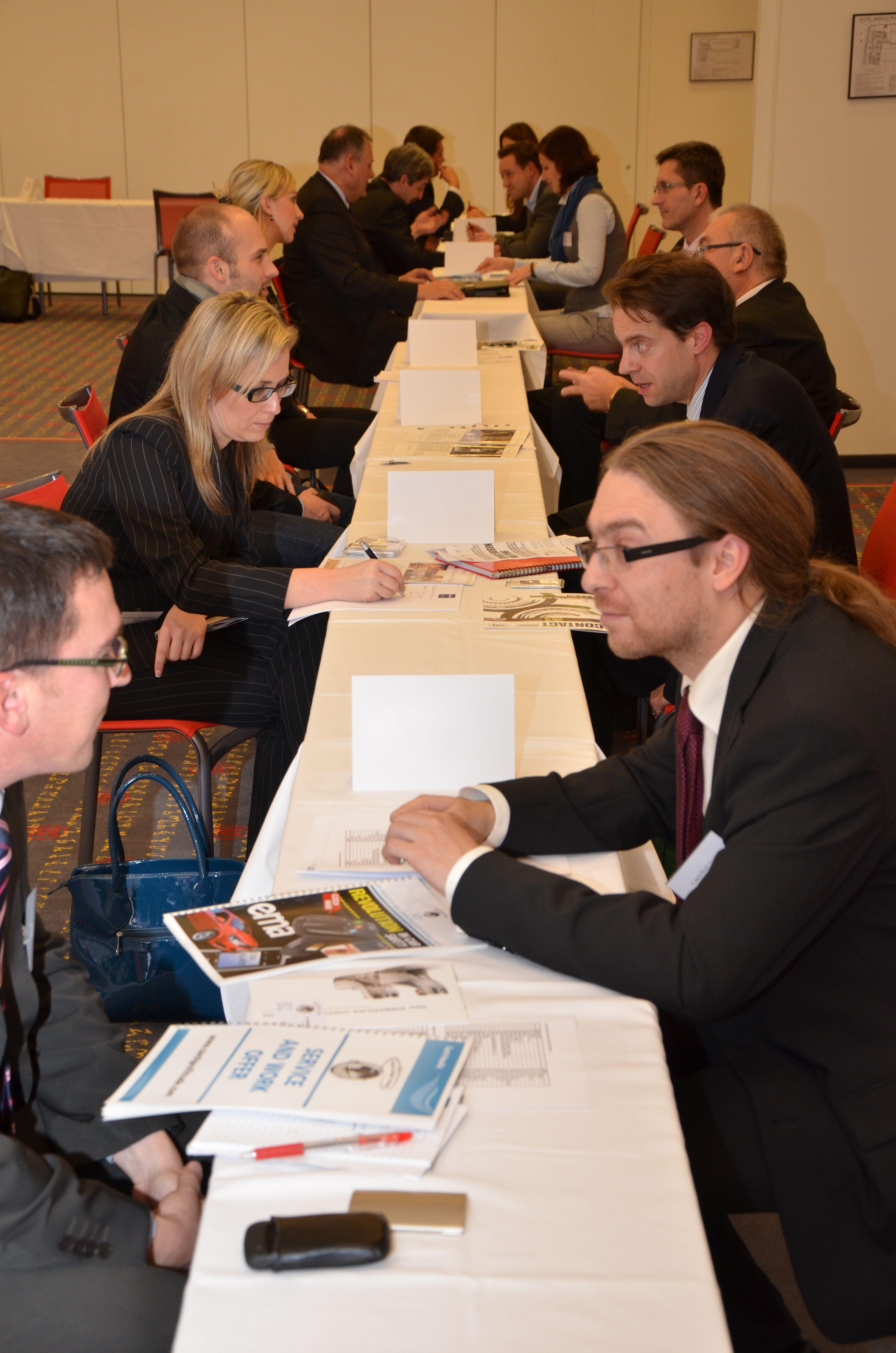 Galerie de photos : Speed Business Meeting à Plzeň