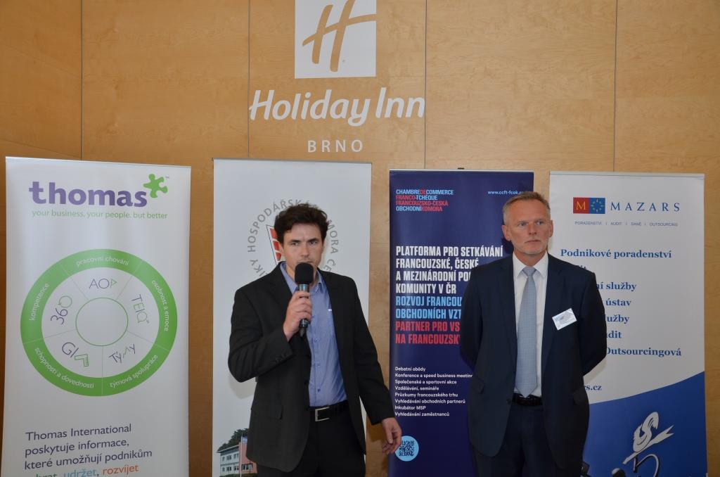 Galerie de photos : Speed Business Meeting avec Regionální hospodářská komora Brno