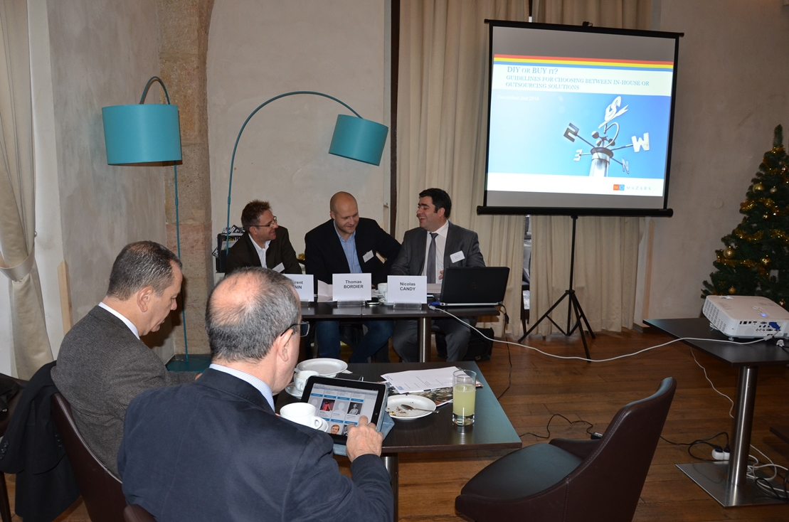 Galerie de photos : SME Club: DIY or BUY IT? Guidelines for choosing between in-house or outsourcing solutions.