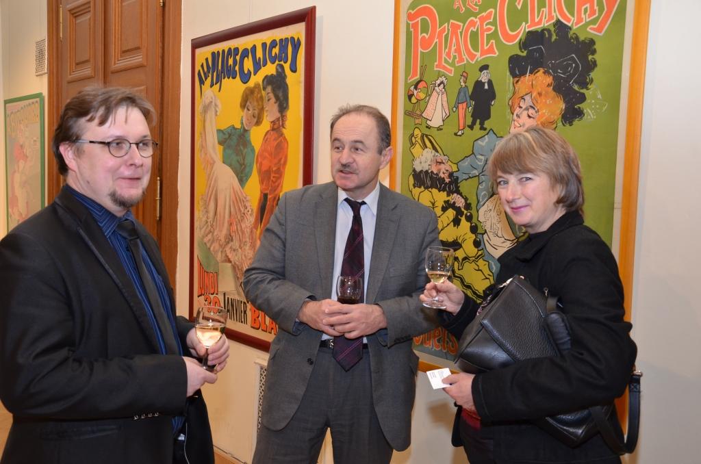 Galerie de photos : Café du commerce et exposition d'affiches Art Nouveau