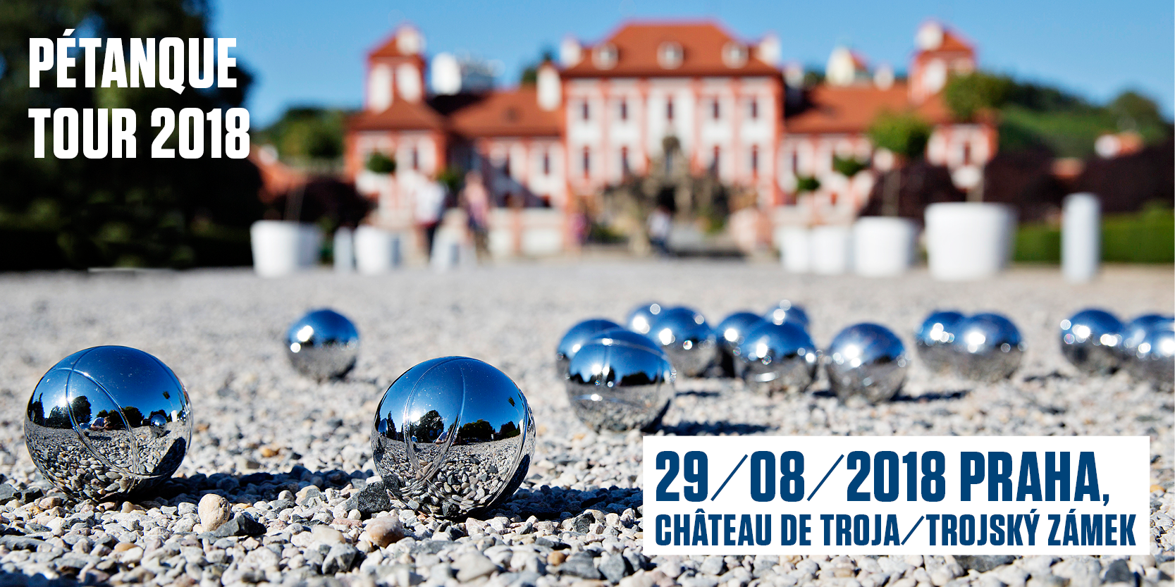 Tournoi de pétanque à Prague
